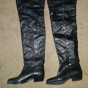 "Jeffery Campbell chap boots, ""Obscene"", size 6"